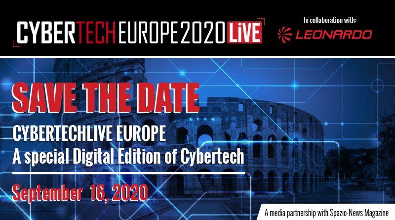 Cybertech Europe Digital Event 2020 - Spazio-News_Magazine - Federico_Cabassi - Leonardo - Accenture