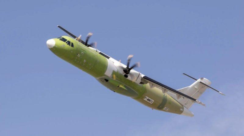 ATR 72-600 Freighter - joint venture Leonardo - Airbus