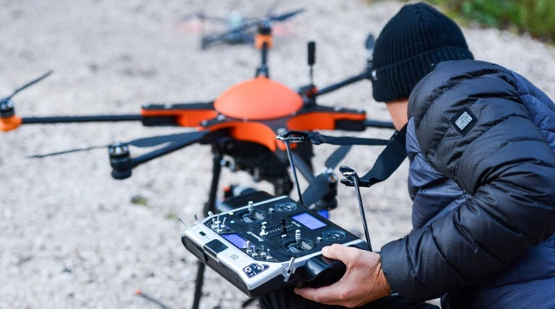 Drone Pilota- Nature of Innovation - NOI Techpark - SoLeon - Spazio-News Magazine