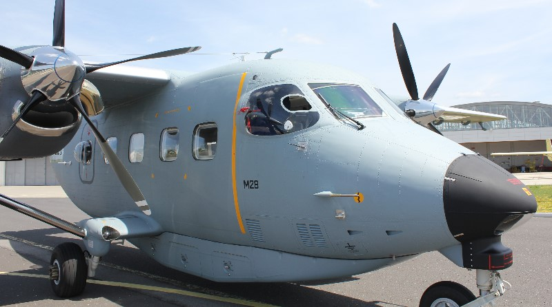 PZL Mielec Lockheed Martin M28 aereo - Spazio-News Magazine