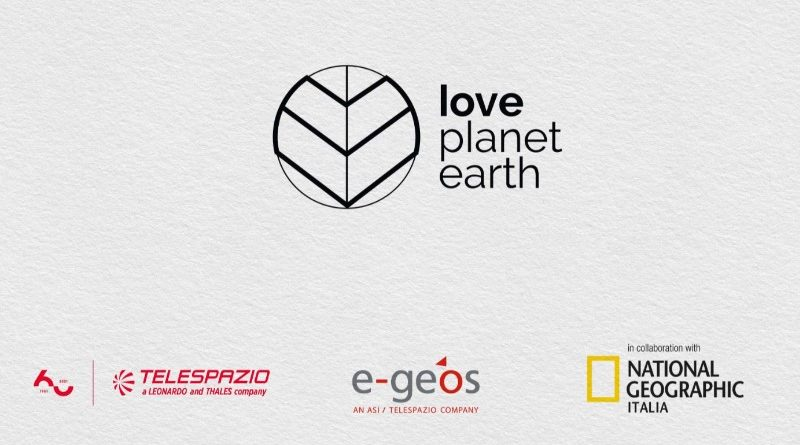Calendario Love Planet Earth 2021 - e-GEOS Telespazio National Geographic Italia