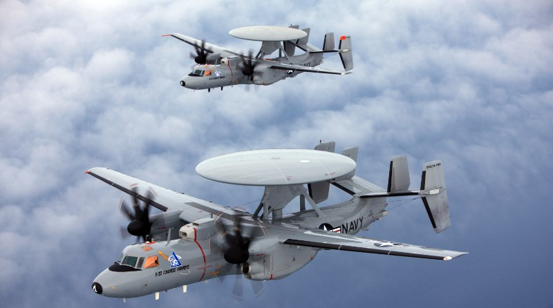 Northrop Grumman - E-2D Advanced Hawkeye - US Navy - Spazio-News Magazine