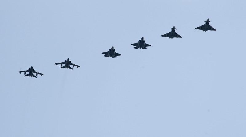 Aeronautica Militare Italiana F-35A, F-35B, Predator MQ-9, Eurofighter Typhoon, Guflstream G550 CAEW, Tornado ECR