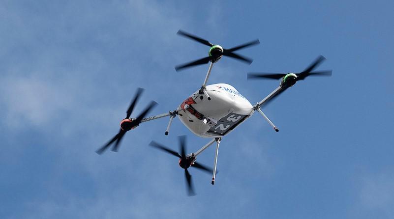 Drone, UAV, Consegne con drone, Logistica, Manna, Samsung, Spazio-News Magazine