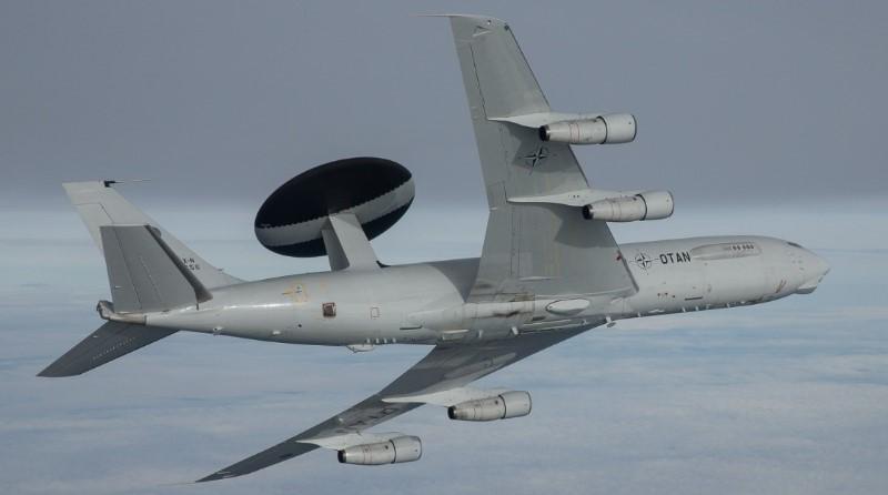 E-3A Airborne Warning and Control System - AWACS, North Atlantic Treaty Organization - NATO, Spazio-News Magazine