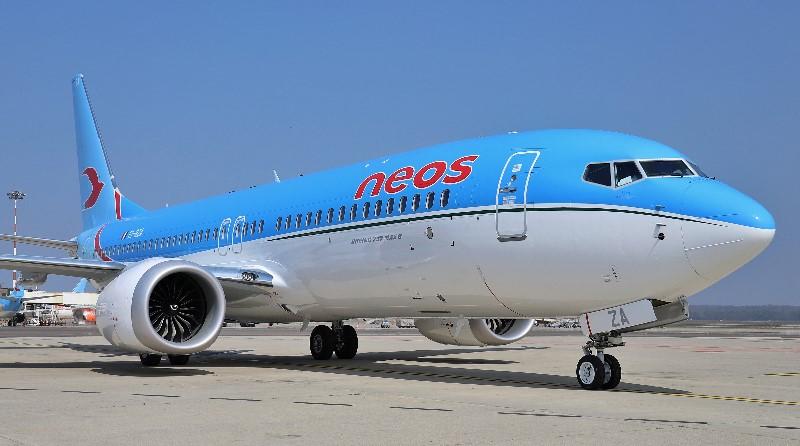 Neos Air - Boeing B737 MAX 8, Marco Polo, Cristoforo Colombo - Spazio-News Magazine