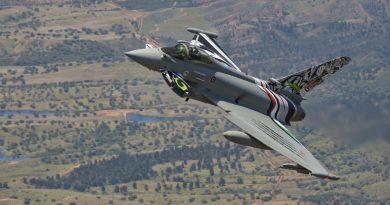 AMI Eurofighter Typhoon - 12° Gruppo delle Tigri Bianche - 36°Stormo di Gioia del Colle Spazio-News Magazine