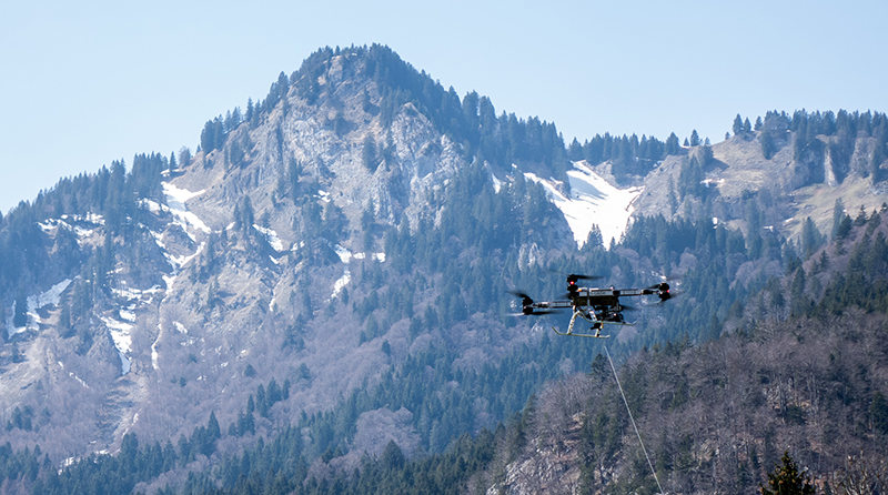 Drone Flying Basket FB-03 - Spazio-News Magazine_1