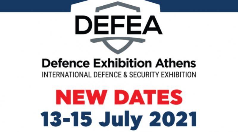 DEFEA 2021 July 13 - 15 Metropolitan Expo Athens - Spazio-News Magazine